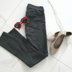 AEO- Charcoal Grey• Super Stretch Jegging• size 00